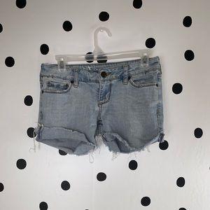 ⭐️10%OFF⭐️ sunset light jean shorts size 1